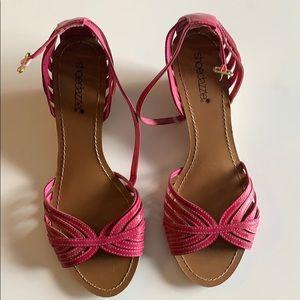 Shoo dazzle wedge sandals